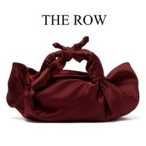 【19SS】THE ROW★The Ascot satin clutch