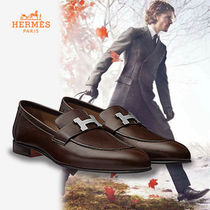 HERMES直営店★Paris loafer パリ ローファー メンズ (cacao)