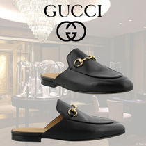 VIP価格【Gucci】PRINCETOWN LEATHER SLIPPERS 関税込