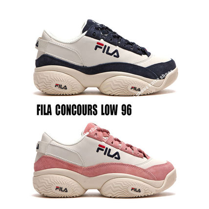 FILA★CONCOURS LOW 96★ロゴ★ダッドスニーカー★厚底★2色
