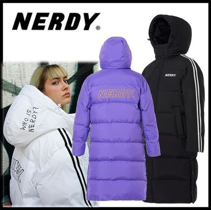 ★イベント中/関税込★NERDY★NY Track Long down Jacket★3色