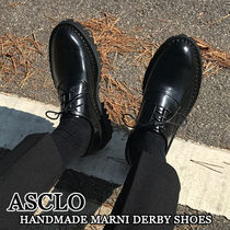 ASCLO★韓国の人気★HANDMADE MARNI DERBY SHOES