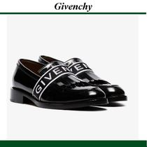 19SS★GIVENCHY(ジバンシィ)  black leather penny loafers