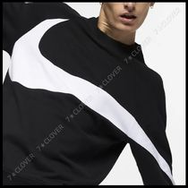 国内発送・正規品★ナイキ NIKE BIG SWOOSH CREW SWEAT★BLACK