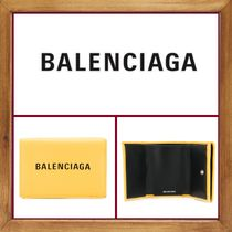 ★★BALENCIAGA 《 LEATHER  EVERYDAY WALLET 》送料込み★★