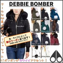MOOSE KNUCKLES★DEBBIE BOMBER★ボンバー+ボンボンでキュート