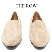 【19SS】The Row★Minimal suede loafers