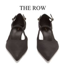【19SS】The Row★Bourgeoise Salome crepe pumps