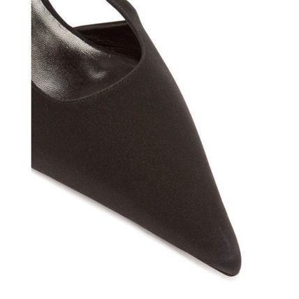 The Row パンプス 【19SS】The Row★Bourgeoise Salome crepe pumps(7)