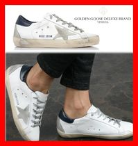 関税負担☆人気☆【GOLDENGOOSE】☆SUPER STAR WHITE NAVY☆