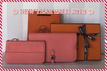 【NEW YEAR SALE 2019 】HERMES DOGON TOGO ROSECANDY  国内発送