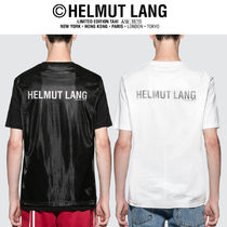 HELMUT LANG(ヘルムート ラング) Tシャツ・カットソー 【HELMUT LANG】Overlay ロゴ S/S Tシャツ(関税送料込)