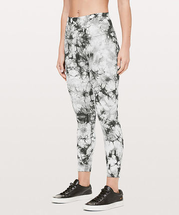Wunder Under Hi-Rise 7/8 Tight FULL-ON LUX* Shibori Grey