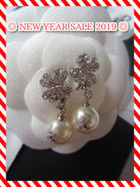 【NEW YEAR SALE 2019】CHANEL デザインピアス