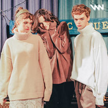 ★WV PROJECT★CHEESE TURTLENECK KNIT - KHKN7120 5色
