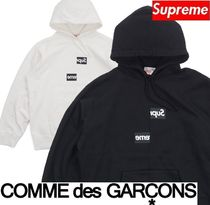 Supreme Comme des Garcons SHIRT Split Box Logo Hooded FW 18