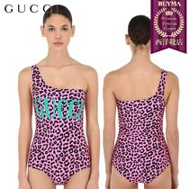 【正規品保証】GUCCI★19春夏★ONE SHOULDER LYCRA SWIMSUIT