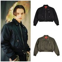 日本未入荷ANOTHERYOUTHのshoulder pad crop JACKET 全2色