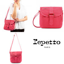 repetto(レペット) 子供用ショルダー・ポシェット・ボディバッグ 大人もOK!コットンポシェット ☆ REPETTO