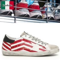 ゴールデングース Superstar Flag Sneakers
