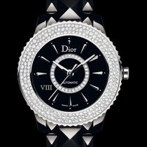 破格値Dior(ディオール)VIII Diamond Black Ceramic Ladie Watch