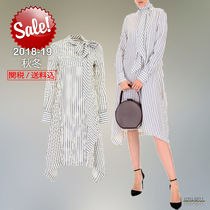 2018-19秋冬See by Chloe striped shirt dress