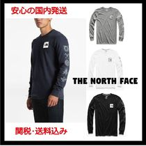新作☆THE NORTH FACE☆LONG-SLEEVE HEAVY WEIGHT PATCHES TEE