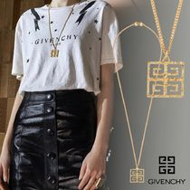 【GIVENCHY】4G ペンダント ロングネックレス メタル チェーン