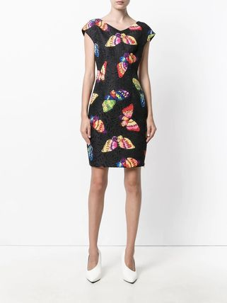 Moschino ワンピース Boutique Moschino モスキーノ Butterfly Print Dress ドレス