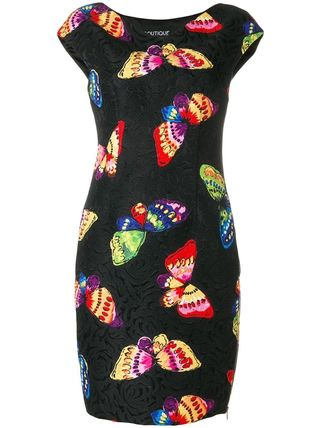 Moschino ワンピース Boutique Moschino モスキーノ Butterfly Print Dress ドレス(2)