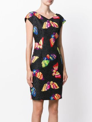 Moschino ワンピース Boutique Moschino モスキーノ Butterfly Print Dress ドレス(3)