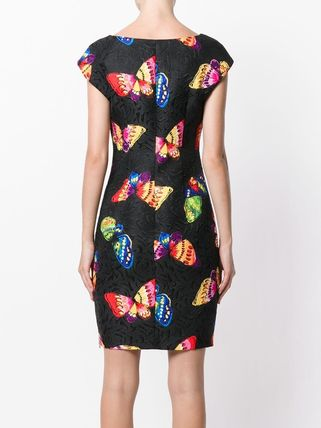 Moschino ワンピース Boutique Moschino モスキーノ Butterfly Print Dress ドレス(4)