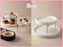 19SS☆最安値保証*関送料込【Anthro】Betti Two-Tier Cake Stand