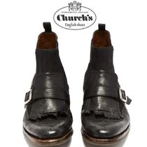 【19SS】大注目!!★CHURCH'S★Shanghai 6 leather chelsea boots