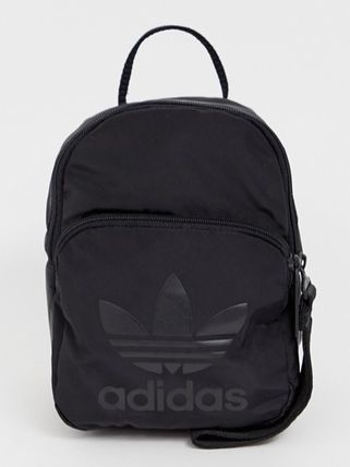 12c2731c3c48 ... adidas バックパック・リュック ☆ASOS☆ adidas Originals mini backpack in all black(  ...