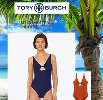 Tory Burch☆リゾートに☆SOLID KNOTTED ワンピース☆