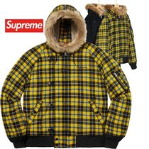 Supreme シュプリーム Wool N-2B Jacket  AW 18 WEEK 19