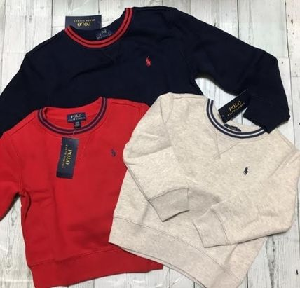 BOYS2-7★Ralph Lauren Polo裏起毛トレーナー