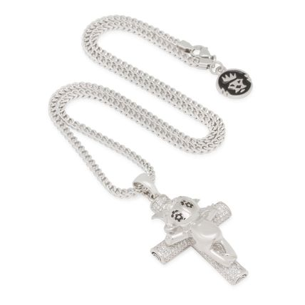 King Ice ネックレス・チョーカー 【Chief Keef x King Ice】☆新作☆The Glo Life Cross Necklace(7)