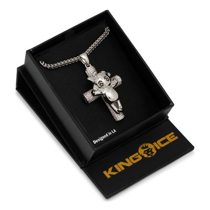 King Ice ネックレス・チョーカー 【Chief Keef x King Ice】☆新作☆The Glo Life Cross Necklace(8)