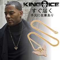 即発/在庫あり☆KING ICE☆Fantastic Beast Owl Necklace (Gold)