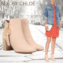 [See by Chloe] 可愛らしさ◎Louise Medium leather ankle boots