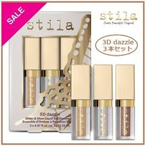 Stila 3D Dazzle Mini Glitter & Glow Liquid Shadow 3本セット
