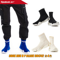 【REEBOK】 REEBOK SOCK RUN R P BLACK CN4742 全4色