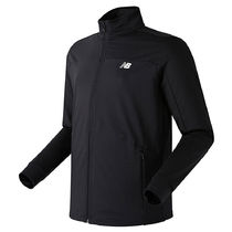 New Balance メンズ ESSENTIAL TRAINING ZIP-UP NBMD836101 BLK
