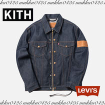 キス リーバイス KITH X LEVI'S RAW TRUCKER JACKET
