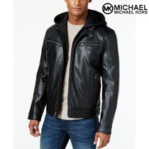 限定セール Michael Kors Men's Hooded Bomber Jacket