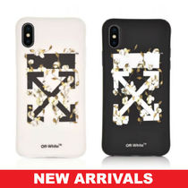 Off-White 新作 iPhone X スマホケース カバー Cotton Flower