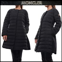 【MONCLER GAMME ROUGE】ウールロングダウンジャケットBLACK/EMS