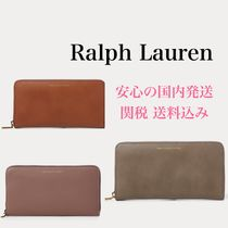 *国内発送* レザー 長財布 Polo Leather Zip-Around Wallet